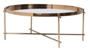 Gold Mirror Coffee Table $110.00