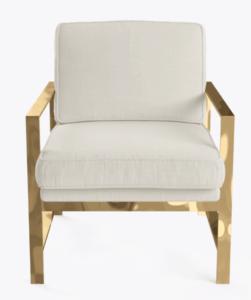 Natural Linen Armchair $135.00
