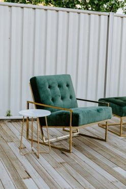 Otto and Chaise green